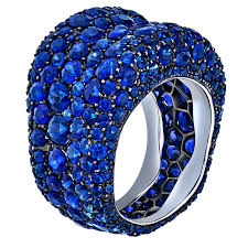 saphire rings emotion blue sapphire ring fabergé the jewellery editor