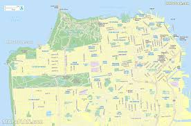 San Francisco Districts Map by Maps Update 1200591 San Francisco Tourist Map U2013 17 Toprated