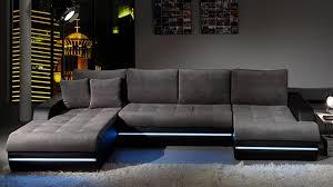 canape galaxy galaxy canapé d angle design gris et noir gauche docks du meuble