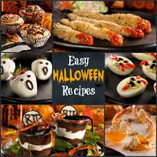 Halloween Appetizers Recipes Pictures by 12 Easy Halloween Recipes Diabetic Halloween Treats The Whole