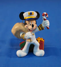 disney cruise line captain mickey mouse resin ornament