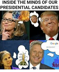 Gary Johnson Memes - inside the minds of our presidential candidates google who is gary