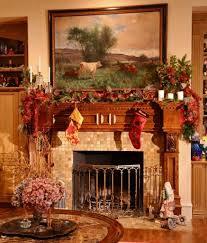 christmas fireplace decorations ideas home design