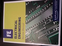 fe electrical engineering review manual kaplan university