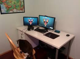 gaming computer desk desks bedroom desks l shaped glass desk ikea gaming computer