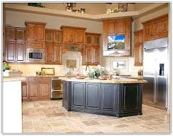 kitchen color ideas with oak cabinets and black appliances honey oak kitchen cabinets decorating ideas cherry