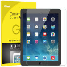 amazon com jetech screen protector for apple ipad 9 7 inch 2018