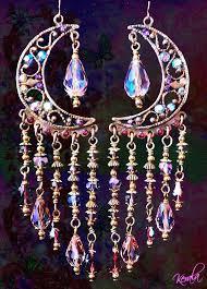 Black And Silver Chandelier Earrings 2017 Europe Vintage Long Tassel Earrings For Women Girls Gun Black