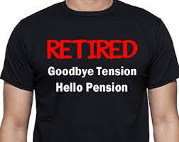 goodbye tension hello pension t shirt goodbye tension etsy