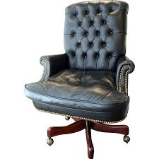 Tufted Swivel Chair Hickory Leather Tufted Executive Swivel Chair From Jkcollections
