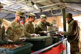 Us Army Decorations Us Army Troops Celebrate Thanksgiving In Iraq While Leading The