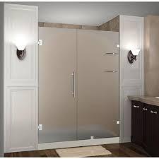 dreamline unidoor lux 58 in x 72 in frameless pivot shower door