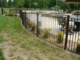 decorative iron and steel fences