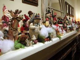 Christmas Decoration For Mantelpiece by Mantel Christmas Decorating Ideas Dream House Experience