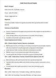 Objective For Resume For Teacher Teacher Objectives Resume Curriculum Vitaegarrick Zikan Example