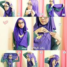 tutorial hijab persegi berkacamata simple hooded hijab tutorial for short necklaces tutorials short