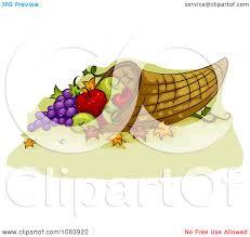 thanksgiving cornucopia clipart thanksgiving basket clip art clipart collection