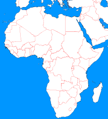 Africa Middle East Map by Blank Map Directory Blank Map Directory Africa Alternatehistory