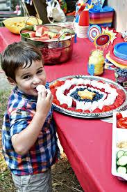 kid friendly birthday party appetizer ideas