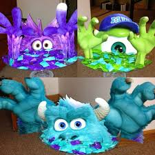 inc baby shower decorations monsters inc baby shower centerpieces monsters inc centerpiece