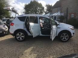used ford kuga zetec white cars for sale motors co uk