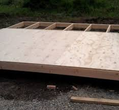 cabin floor how to build a small cabin preparing the site and building the