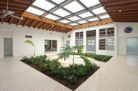 1950s modern atrium house in coral gables for 585 000 coral