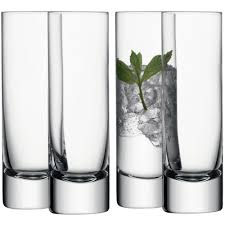 cocktail glass set lsa bar long drink glass set of 4 35 new flat pinterest