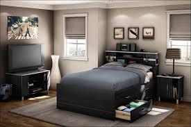 Headboard Nightstand Attached Bedroom Marvelous Headboard Nightstand Attached Floating Queen