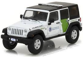 police jeep wrangler greenlight 1 43 us customs u0026 border protection 2015 jeep wrangler