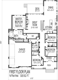 fancy 3 car garage floor plans gallery home decoration ideas