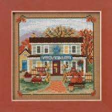 store cross stitch kit mill hill 2017 buttons autumn mh141722