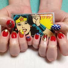 best 10 wonder woman nails ideas on pinterest superhero nails