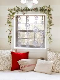 how to make a snowflake curtain hgtv
