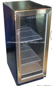 small beer fridge glass door bear small refrigerator under counter display refrigerator table