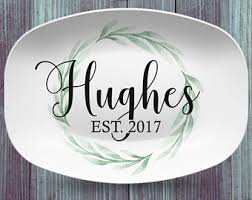 personalized serving platters personalized serving platter etsy