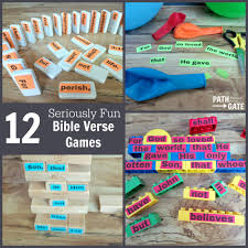 12 seriously fun memory verse bible games