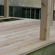 cedar deck board installation step by step deck building part 7
