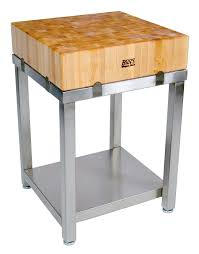 boos cucina laforza maple butcher block frame john boos cucina laforza butcher block on stainless steel frame cucla24