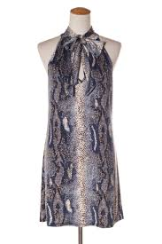 snake print blouse fifilles snake print dress 10 12 recycle style