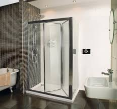 collage bi fold door shower enclosure roman showers