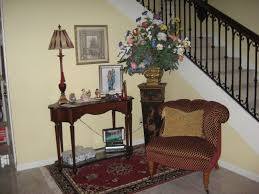 foyer accent table grandiose brown fabric accent chair feat antique foyer table on