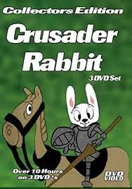 rabbit dvds crusader rabbit 3 dvd set 10 hours with dvd menus