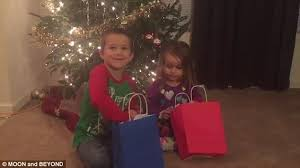 parents buy children terrible christmas presents to test gratitude