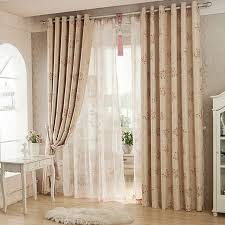 European Lace Curtains Pastoral Voile Curtain Window Valance European Lace Curtains