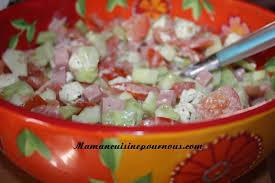 cuisine d été recette salade d été maman cuisine pour nous