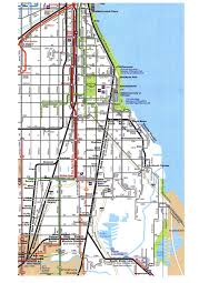 Chicago Printable Map by The South Side Wasn U0027t On The Map Beyond 35th Street For Real