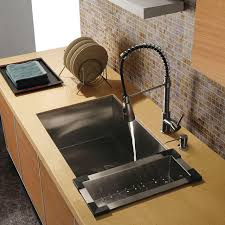 faucet sink kitchen choosing the right kitchen sink faucets 2planakitchen