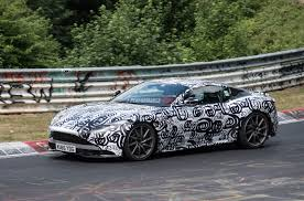 aston martin blacked out 2018 aston martin vantage spied pushing hard at nurburgring