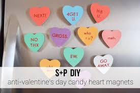 s day candy hearts diy anti s day candy heart magnets